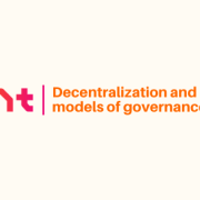 Decentralization and new models of governance