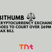 South Korean cryptocurrency exchange Bithumb Goes to Court Over $69M Tax Bill