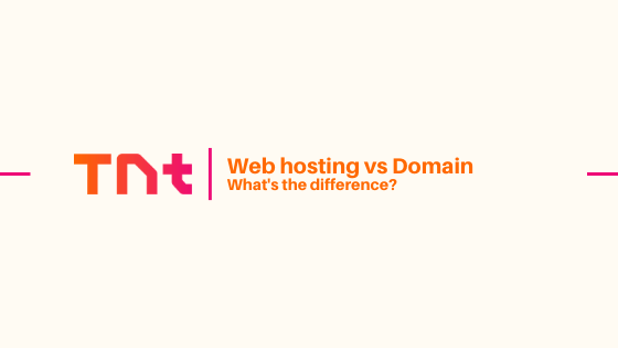 Web hosting vs Domain: What's the difference?
